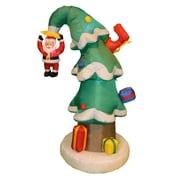 BZB Goods Christmas Tree w/ Santa Claus Christmas Decoration