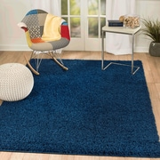Rug and Decor Inc. Supreme Navy Blue Area Rug; 2' x 3'