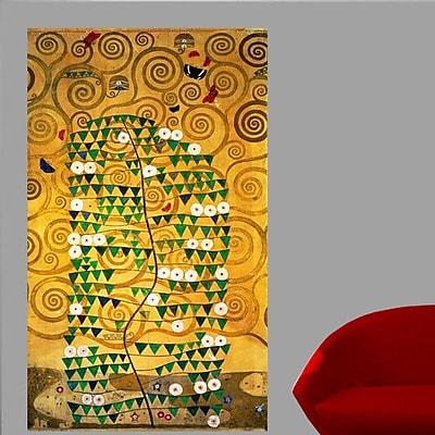 Wallhogs Klimt Tree of Life (20th) Wall Mural; 24'' H x 14'' W