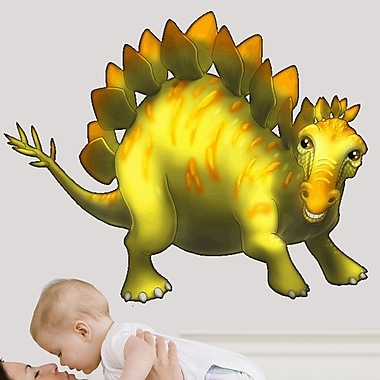 Wallhogs Stegosaurus Cutout Wall Decal; 29'' H x 36'' W