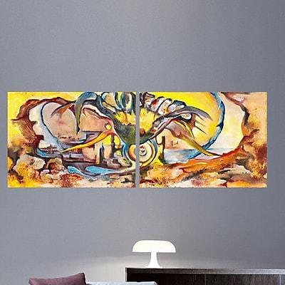 Wallhogs Yosi Amir XLVI Wall Mural; 22'' H x 60'' W