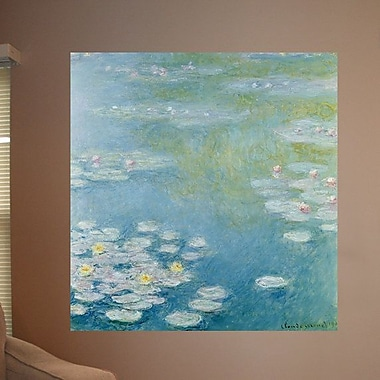 Wallhogs Monet Nympheas at Giverny (1908) Wall Mural; 46'' H x 48'' W
