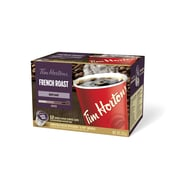 Tim Hortons French Roast K-Cup Compatible Coffee, Single Serve, 12/Pack