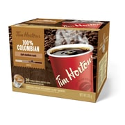 Tim Hortons – Café Colombien compatible K-Cup, portion unique, paq./30