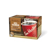 Tim Hortons Colombian K-Cup Compatible Coffee, Single Serve, 12/Pack