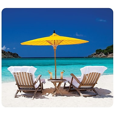 Fellowes Recycled Mousepad, Caribbean Beach (5916301)