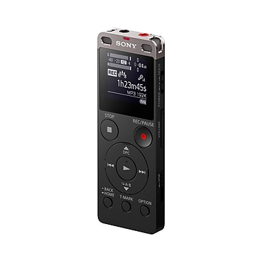 Sony Stereo Digital Voice Recorder with Built-in USB, 4 GB (ICDUX560BLK)