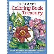 Design Originals Ultimate Coloring Book Treasury, Spiral-bound, Adult Coloring Book