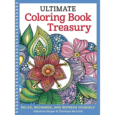 Ultimate Coloring Book Treasury, Spiral-bound (DO-5559)