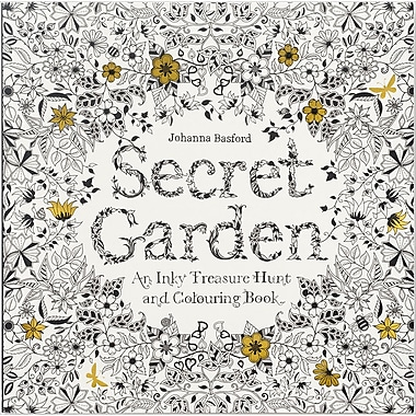 Chronicle Books Secret Garden Coloring Book Softcover CH 67106