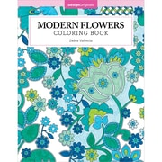 Modern Flowers Coloring Book, Softcover (DO-5535)