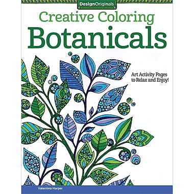Creative Coloring Botanicals, Softcover (DO-5539)