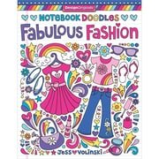 Notebook Doodles Fabulous Fashion, Softcover (DO5551)