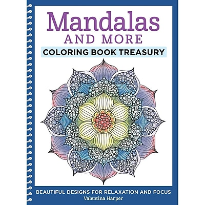 Mandalas and More Coloring Book, Spiral-bound (DO-5558)