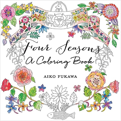 Four Seasons: A Coloring Book, Softcover (SM-82626)
