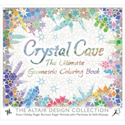 Crystal Cave Coloring Book Softcover SM 86627