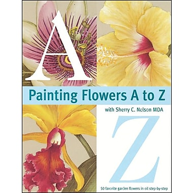 Painting Flowers A to Z, Softcover (NLB-49383)