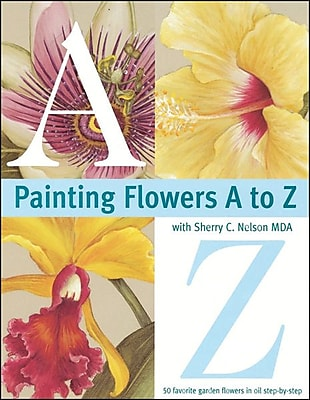 F&W Media Painting Flowers A to Z, Softcover