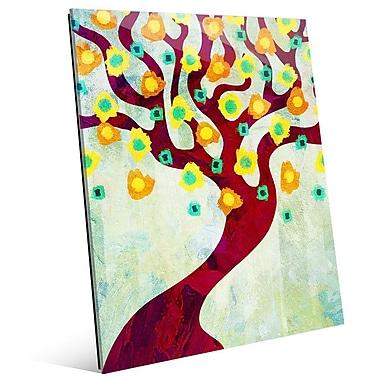 Click Wall Art 'Fun Time Tree Time' Graphic Art; 20'' H x 16'' W x 1'' D