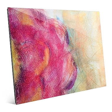 Click Wall Art 'Peonia' Painting Print; 16'' H x 20'' W x 1'' D