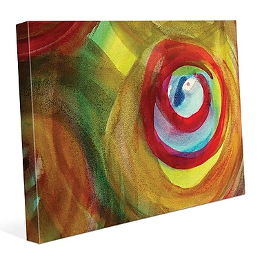 Click Wall Art 'Speranza' Painting Print on Wrapped Canvas; 11'' H x 14'' W x 1.5'' D