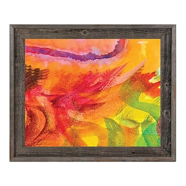 Click Wall Art 'Lumaca' Framed Painting Print; 23.5'' H x 27.5'' W x 1'' D