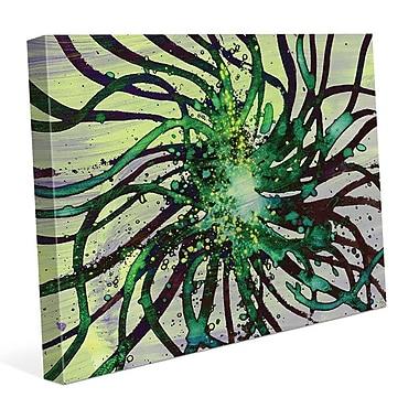Click Wall Art 'Kikuyu' Graphic Art on Wrapped Canvas; 20'' H x 30'' W x 1.5'' D