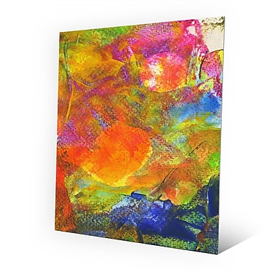 Click Wall Art 'Sole Crazy' Painting Print on Metal; 10'' H x 8'' W x 0.04'' D