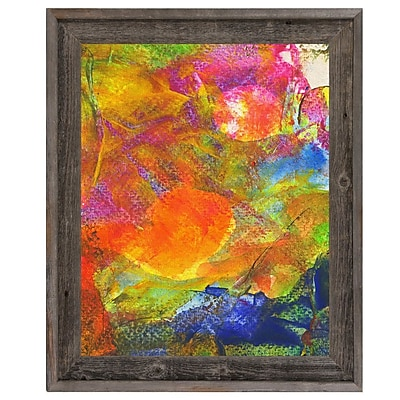 Click Wall Art 'Sole Crazy' Framed Painting Print; 23.5'' H x 19.5'' W x 1'' D