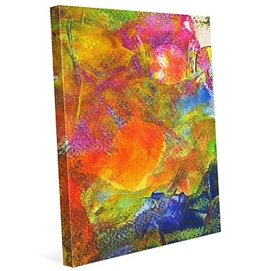 Click Wall Art 'Sole Crazy' Painting Print on Wrapped Canvas; 40'' H x 30'' W x 1.5'' D