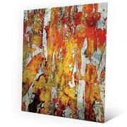 Click Wall Art 'Walatah' Painting Print on Metal; 30'' H x 20'' W x 0.04'' D