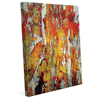 Click Wall Art 'Walatah' Painting Print on Wrapped Canvas; 14'' H x 11'' W x 1.5'' D