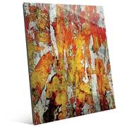 Click Wall Art 'Walatah' Painting Print; 14'' H x 11'' W x 1'' D