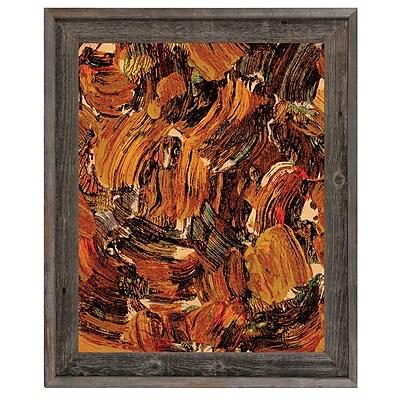 Click Wall Art 'Bee Swarming' Framed Painting Print; 17.5'' H x 14.5'' W x 1'' D