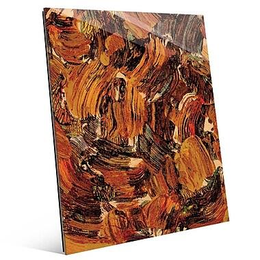 Click Wall Art 'Bee Swarming' Painting Print; 24'' H x 20'' W x 1'' D