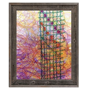 Click Wall Art 'Scala' Framed Graphic Art on Canvas; 23.5'' H x 19.5'' W x 1'' D