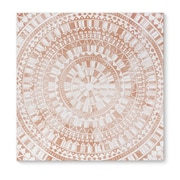 Kavka Mandala Rose Graphic Art on Wrapped Canvas