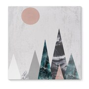 Kavka Mountains Graphic Art on Wrapped Canvas