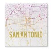 Kavka San Antonio Sunset Front Graphic Art on Wrapped Canvas