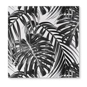 Kavka Tropical Black Graphic Art on Wrapped Canvas