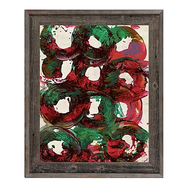 Click Wall Art 'Universe' Framed Painting Print; 27.5'' H x 23.5'' W x 1'' D