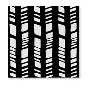 Kavka Baby Tribal Black Graphic Art on Wrapped Canvas