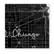 Kavka Chicago Graphic Art on Wrapped Canvas