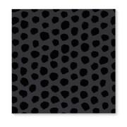 Kavka Dalmatian Black Graphic Art on Wrapped Canvas