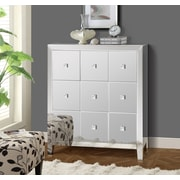 Gallerie Decor Reflections 9 Drawer Cabinet; Mirror