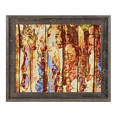 Click Wall Art 'Kinko' Framed Painting Print; 14.5'' H x 17.5'' W x 1'' D