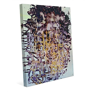 Click Wall Art 'M'pungu' Graphic Art on Wrapped Canvas; 14'' H x 11'' W x 1.5'' D