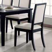 Infini Furnishings Louwe Side Chair (Set of 2)