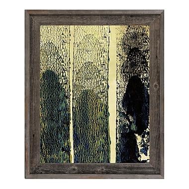 Click Wall Art 'Qlopaht' Framed Graphic Art ; 27.5'' H x 23.5'' W x 1'' D