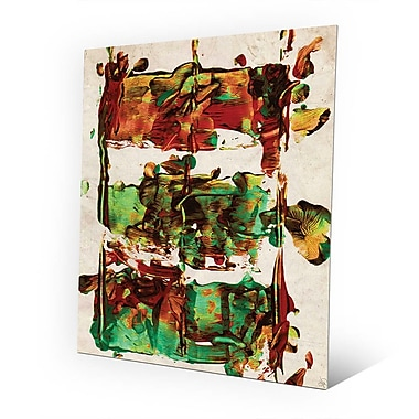 Click Wall Art 'Engine Block' Painting Print on Metal; 10'' H x 8'' W x 0.04'' D